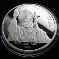 Congo 10 Franc 2003 Pope Pape - Congo (République Démocratique 1998)