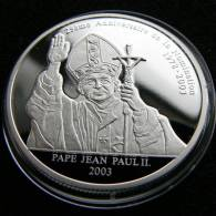 Congo 10 Franc 2003 Pope Pape - Congo (República Democrática 1998)