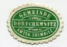 VIGNETTEN / SIEGEL / SEAL - 0610 Germany - Gemeinde Dorfchemnitz Amtsh. Chemnitz - Cinderellas