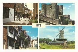 Cp, Angleterre, Rye, Multi-Vues - Rye
