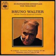 Single Vinyl 45 Rpm  - Bruno Walter  Und Das Columbia-Symphonie-Orchester - W.A. Mozart Overtüre - Klassik