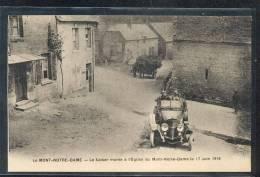 02 - LE MONT NOTRE DAME : Le Kaiser Monte à L'église Juin 1918 (voiture Ancienne)