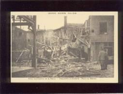 51 Chalons Sur Marne Place Du Marché   édit. Combier Guerre 1914-1918 - Châlons-sur-Marne