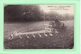LIANCOURT(60) / AGRICULTURE / MATERIEL AGRICOLE / TRACTEURS / Etablissements BAJAC / Labourage Au Polysoc - Liancourt