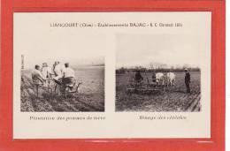 LIANCOURT(60) / AGRICULTURE / MATERIEL AGRICOLE / Etablissements BAJAC/Plantation Des Pommes De Terre/Binage Des Cérales - Liancourt