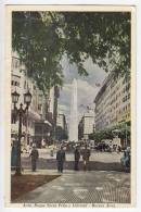 AMERICA ARGENTINA BUENOS AIRES ROQUE SAENZ PENA AVENUE AND LIBERTY OLD POSTCARD 1961. - Argentina