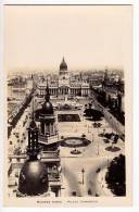 AMERICA ARGENTINA BUENOS AIRES THE CONGRESS SQUARE OLD POSTCARD - Argentina