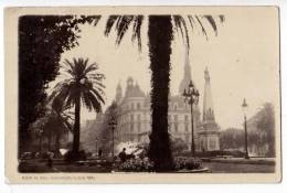 AMERICA ARGENTINA BUENOS AIRES THE MAYO SQUARE AND CITY HALL OLD POSTCARD - Argentina