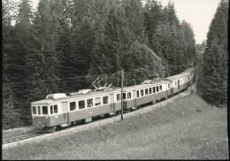 Train  ---  En - Dessous De Six - Fontaines , Train Pour Yverdon --- 1965 - Trains