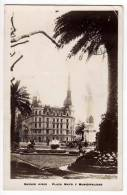 AMERICA ARGENTINA BUENOS AIRES THE MAYO SQUARE AND CITY HALL OLD POSTCARD 1930. - Argentina