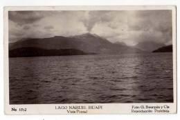 AMERICA ARGENTINA THE NAHUEL HUAPI LAKE PARTIAL VIEW Nr. 1512 OLD POSTCARD - Argentina