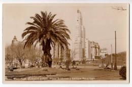 AMERICA ARGENTINA BUENOS AIRES THE BRITANICA SQUARE AND THE KAVANAGH BUILDING Nr. 109 OLD POSTCARD - Argentina