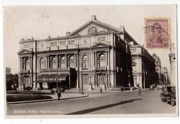 AMERICA ARGENTINA BUENOS AIRES THE COLON THEATRE OLD POSTCARD - Argentina