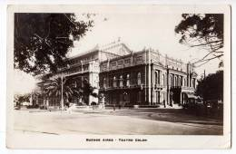 AMERICA ARGENTINA BUENOS AIRES THE COLON THEATRE OLD POSTCARD 1928. - Argentina