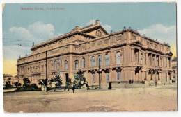 AMERICA ARGENTINA BUENOS AIRES THE COLON THEATRE OLD POSTCARD 1916. - Argentina