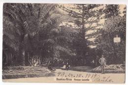 AMERICA ARGENTINA BUENOS AIRES THE LEZAMA PARK OLD POSTCARD 1914. - Argentina
