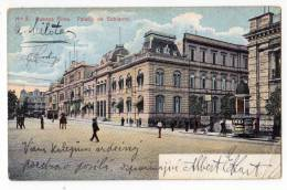 AMERICA ARGENTINA BUENOS AIRES THE GOVERMENT PALACE Nr. 5 OLD POSTCARD 1909. - Argentina