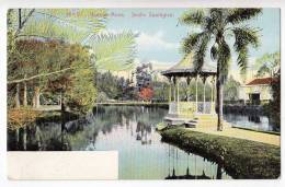 AMERICA ARGENTINA BUENOS AIRES THE ZOOLOGICAL GARDENS Nr. 57 OLD POSTCARD 1907. - Argentina