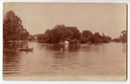 AMERICA ARGENTINA BUENOS AIRES THE BOATS ON THE LAKE OLD POSTCARD - Argentina