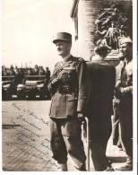 POTO DU MARECHAL LECLERC DEDICACEE POUR L HOPITAL BAUDENS A ORAN - War, Military