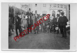 XX-ATTELAGE De CHIENS-MANEGE-Fete-NON SITUEE-3 CARTES PHOTO-Guerre-14-18-FLANDR ES-BELGIQUE-59-62-Etat SUPERBE- - Belgique