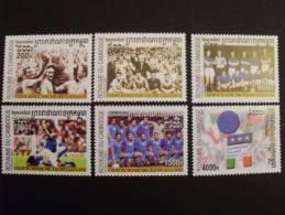 Kambodscha 2270/5 ++ MNH ,Fußball-WM, Japan Und Südkorea (2002): Erfolge Der Italienischen Nationalmannschaft - Kambodscha