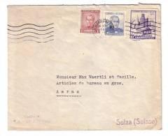 Chile Chili Valparaiso Suisse Aarau Max Waertli Articles De Bureau En Gros 1961 - Chili