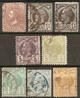 RUMANIA REY CAROL I VARIOS - 1858-1880 Moldavia & Principado