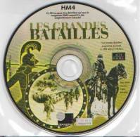 Les GRANDES BATAILLES - CD-ROM - CD