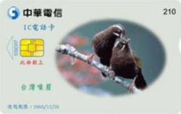 = TAIWAN - IC 02C017  =  MY COLLECTION - Taiwan (Formosa)