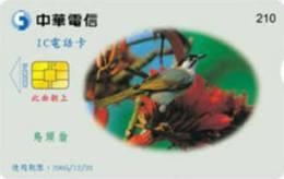= TAIWAN - IC 02C018  =  MY COLLECTION - Taiwan (Formosa)