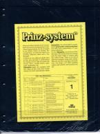 Prinz Single Side Stocksheets, 1 Strip Per Page, Pack Of 10 - Stockbooks