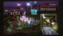 Hong Kong  2005 N° BF 139 ** Parc D'attraction, Walt Disney, Disneyland, Mickey, Feux D'artifice, Chateau, Train, Tasses - 1997-... Región Administrativa Especial De China