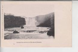 ISLAND , Dyrafjord Cascade Des..., Early Card - Individed Back - Iceland