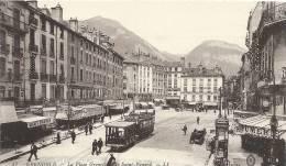 GRENOBLE  La Place Grenette Et Le St Eynard - Grenoble