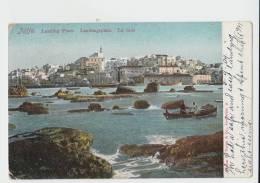 JAFFA - LANDING PLACE  Landungsplatz  La Rade 1909 Israel - Israele