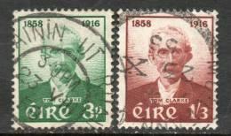Ireland 1958 - Birth Centenary Of Thomas J Clarke SG172-173 VGU Cat £11.10 SG2018 - Unclassified