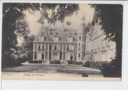Edition Peslier - Greslebin  Alencon  Chateau Du Varvaines Old PC .France - Alencon