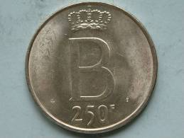 1976 FR - 250 FRANK ( XF ) KM 157.1 ( Morin 780 - For Grade / Please See Photo ) ! - 10. 250 Francs