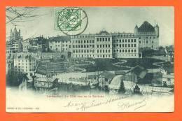 "Suisse - Lausanne   ""  La Cite , Vue De La Solitude  "" Carte Precurseur - Suisse"