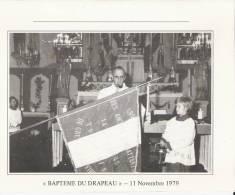 Gretz-Armainvilliers (77) : Banquet Des Anciens Combattants- Baptème Du Drapeau - 11 Novembre 1979 - Menus