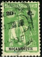 MOZAMBICO, MOZAMBIQUE, COLONIA PORTOGHESE, PORTUGUESE COLONY, 1914, USATO, Scott 169, YT 166(A), Mi 164C - Mozambique