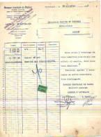 Auvelais - 1936 - Banque Centrale De Namur (agence De La Société Générale De Belgique) - Banque & Assurance