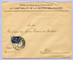 Brief POLEN WARSCHAU To VIENNA 1906  (555) - ....-1919 Provisional Government