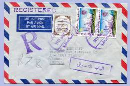 Registerd Air Mail Letter BAGHDAD To VIENNA 1967 (562) - Irak