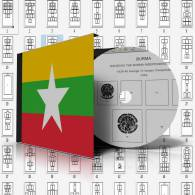 BURMA - MYANMAR STAMP ALBUM PAGES 1937-2011 (57 Pages) - Software
