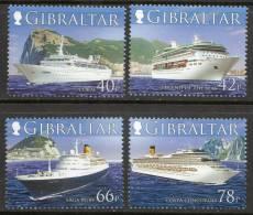 Gibraltar 2006 - Cruise Ships 2nd Series SG1180-1183 MNH Cat £8.40 SOW 2009 - Gibraltar