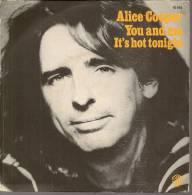 """45 Tours SP - ALICE COOPER  - WB 16914  """" YOU AND ME """" + 1 - Vinyl-Schallplatten"""