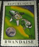 Rwanda 1970 Apollo 13 30c - Mint - 1970-79: Mint/hinged