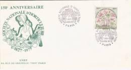 PARIS 150° Anniversaire De La Société Nationale D'Horticulture 1827/1977 23 Avril 1977 - Végétaux